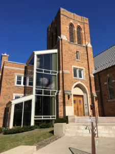 University Lutheran Chapel Exterior - Main Entrance